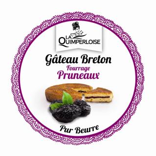 Gâteau breton Fourrage Pruneaux Image