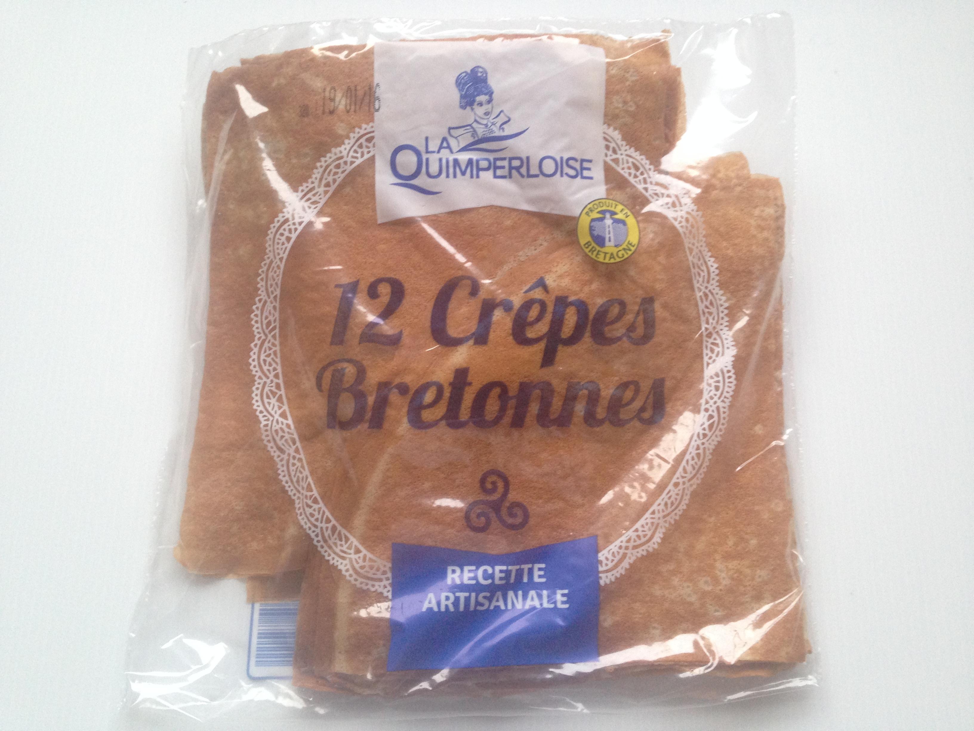Crêpes Bretonne x 12 Image