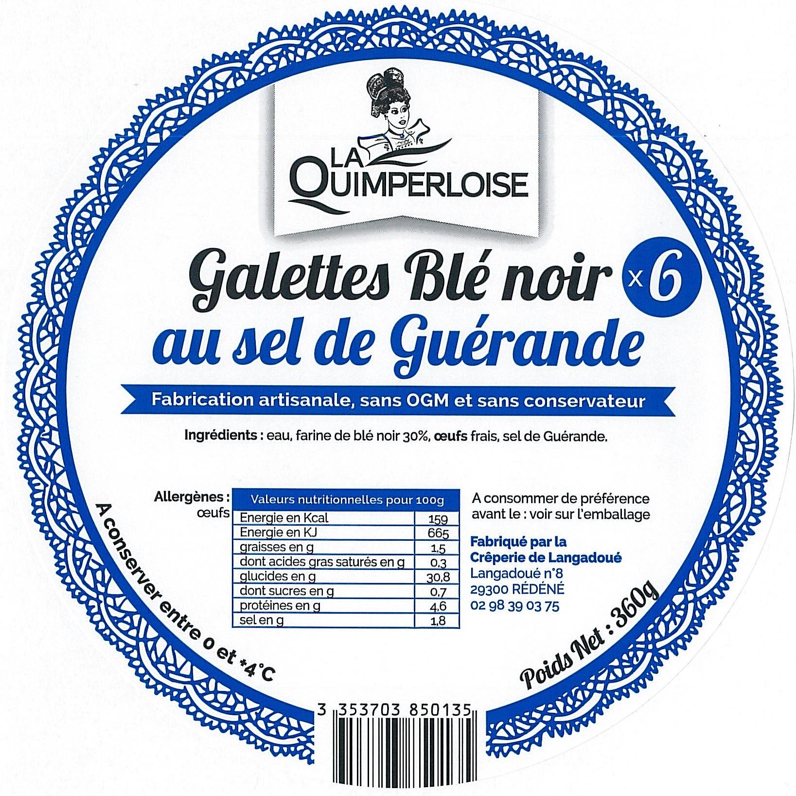 Galettes de Blé Noir x 6 Image
