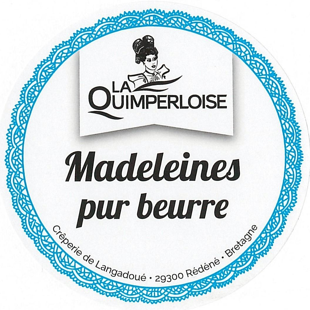 Madeleine nature sachet x 13 Image